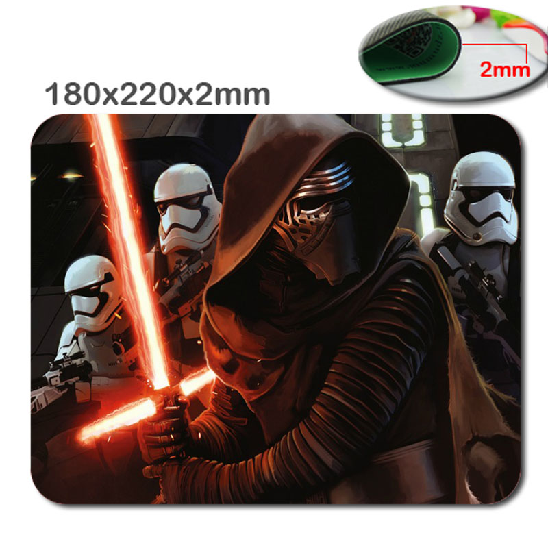 Hot Fashion Star Wars Luxury Print Gaming Mousepad Gamers Anti-Slip Durable Rubber Mouse ...