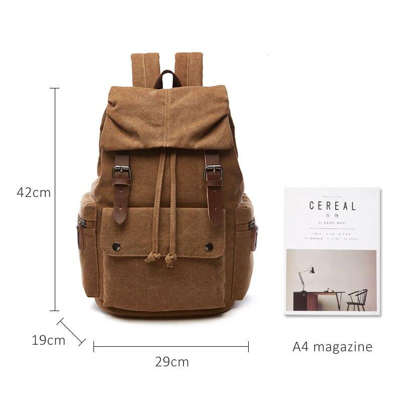 Холщовый Рюкзак для ноутбука для мужчин и женщин, школьный рюкзак Mochila Feminina, модный Противоугонный женский рюкзак для путешествий, школьный ...