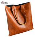 HISUELY Fashion Women Handbags Bucket Embossed Letters Shoulder Bags Ladies Cross Body Bags Large Capacity Ladies Shopping Bag