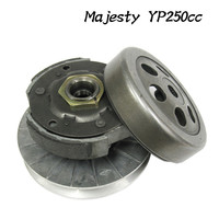 YP250 Clutch Pulley Assy MAJESTY 250 LH250 ATV 250 Driven Wheel Driven Pulley Rear Clutch Inner Diameter135mm Drop Shipping