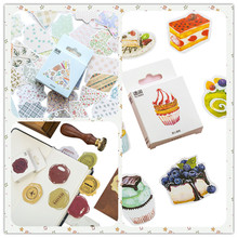 50pcs/pack DIY Diary Notebook Decoration Scrapbooking Stickers Label Greeting Card Making Album Cute Sticker 5 Styles Can Choose diy stickers travel note kawaii stickers for diary scrapbooking notebook greeting card decoration