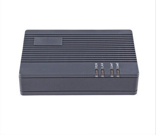 2 FXS voip-адаптер t 38 шлюз HT-922T Codecs VOIP GOIP шлюз HT 922 T два 10/100 Ethernet для подключения WAN/LAN