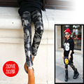 Children's Garment New Pattern Winter Girl Hit Underpant Camouflage Thick Down Hit Pants