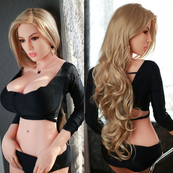 165cm #38 Europe women Love doll Dental teeth Vaginal and anal Full TPE with Skeleton sex doll