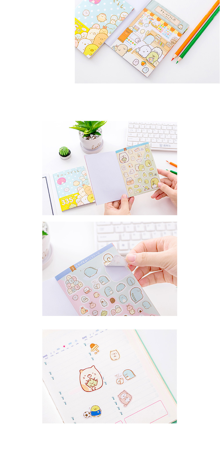 Electronic Components & Supplies Objective Cartoon Cute Girl Photo Corner Stickers For Diy Baby Photo Album Or Scrapbook Album 8 Style Choose 24pcs/sheet