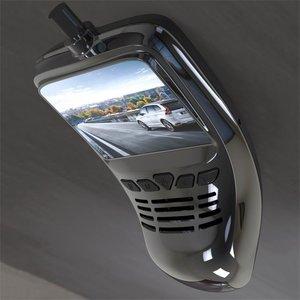 Image 1 - Caméra enregistreur DVR de voiture à petit tableau de bord avec caméra grand Angle Wifi 1080p