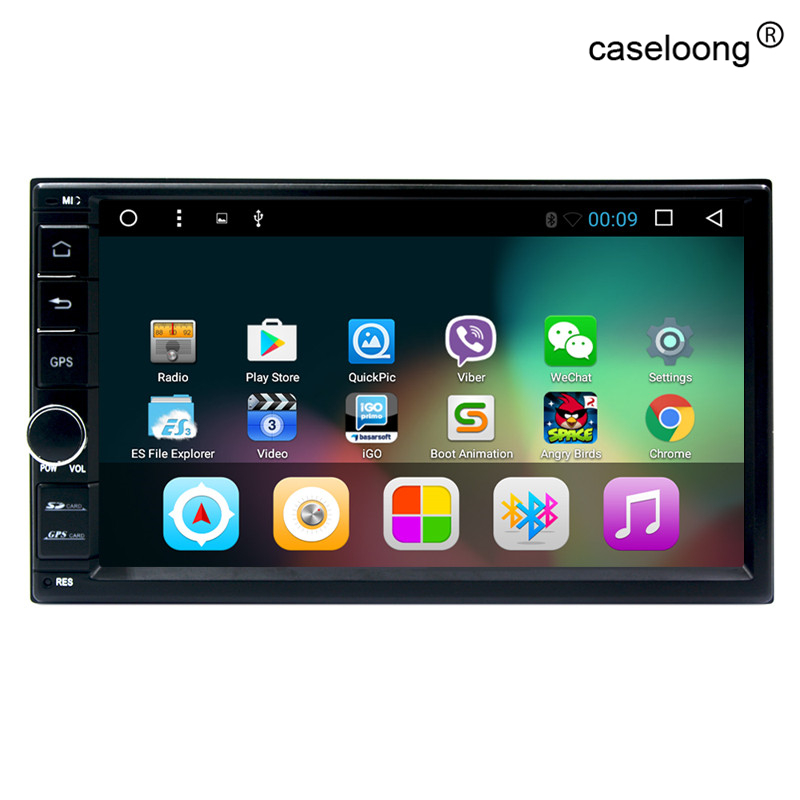 7 Inch Android 6 0 Double Din font b Car b font DVD Player universal 2