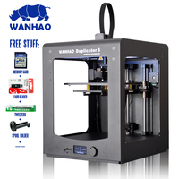 Newest wanhao 6d plus 3d Printer full metal frame High Precision 3d printer kit imprimante impresora glass platform wifi