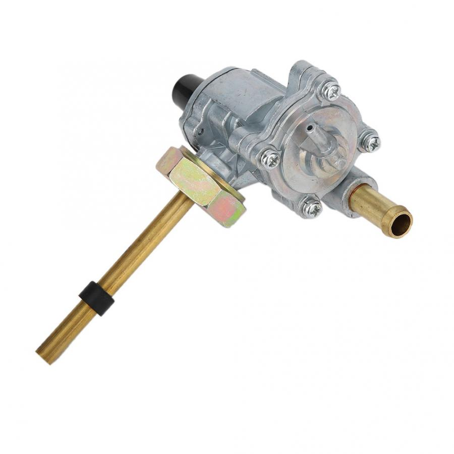 Pit Dirt Quad Motorcycle Fuel Tank Valve Aluminium Fuel Gas Tanks In-Line ON-OFF Switch Qiilu Fuel Tank Switch
