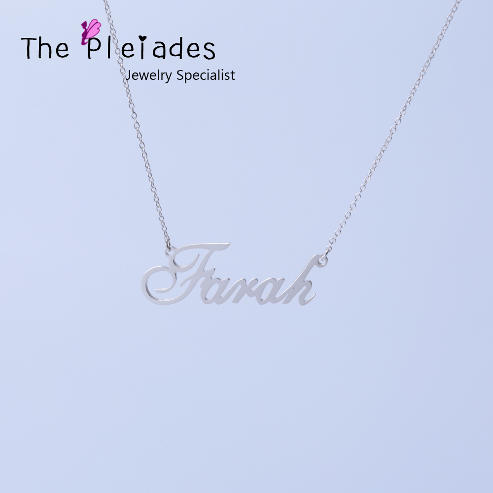 Compare Prices on Customized Necklace Name- Online Shopping/Buy ...