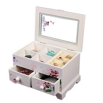 15%,Custom Jewelry Makeup organizer E0 E1 MDF Wooden Storage box Beautiful Design box Jewelry for   display,Support makeup organizer box