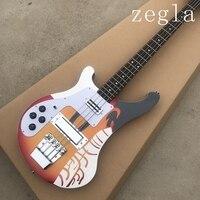 Левша Заводская Rickenback 4003 Custom 4 струны для бас гитары Электрогитара Бас гитара rickenbacker Бесплатная доставка