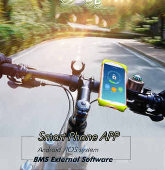 BMS 7S 30A/40A/50A active bms 24V new Li-ion smart bms pcm with android Bluetooth app UART wi software (APP) monitor