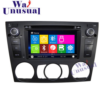 WANUSUAL 6.2 Professional Wince Car GPS Navigation For BMW E90 E91 E92 E93 (3 Series Manual) 2005- Radio Player with 8GB Maps image