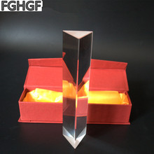 FGHGF  150 * 30 * 30 optical prism scientific experiment physical prism primary students experimental instrument material недорого