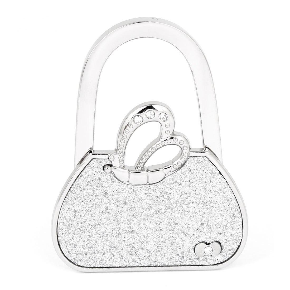 Супер продать Бабочка Акцент складной стол крюк кошелек вешалка держатель для Для женщин