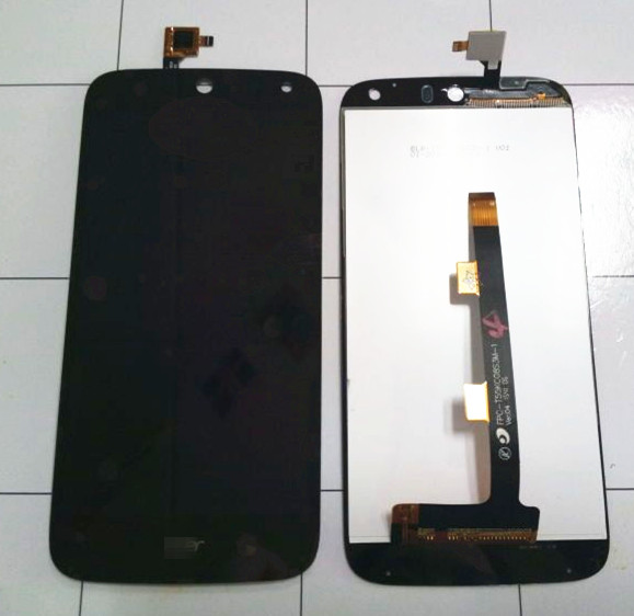 LCD Display Screen +Touch digitizer For Acer Liquid Z630 black color Free shipping