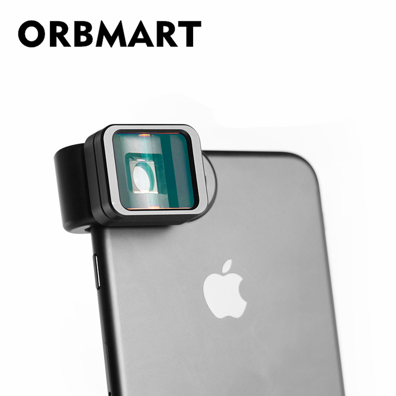 ORBMART 1.33x Deformation Phone Lens Universal Clip Widescreen Movie Lens For iPhone Huawei Samsung Xiaomi Smart PhoneORBMART 1.33x Deformation Phone Lens Universal Clip Widescreen Movie Lens For iPhone Huawei Samsung Xiaomi Smart Phone