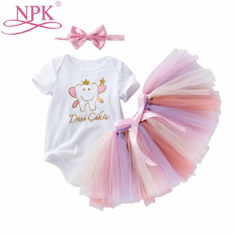 NPK 20-23 дюймов радуга цвет сетки t-рубашка платье для Bebes Reborn кукла 50 см/55 см силиконовая кукла-младенец Одежда Diy Кукла аксессуар