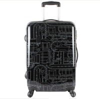 20 inch Password board chassis trolley suitcase luggage case Caster graffiti rolling luggage Men women travel case maletas valiz