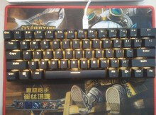 RK61 لوحة المفاتيح بلوتوث الكرز mx الأزرق rk 61 لوحة مفاتيح لاسلكية صغيرة الخلفية الميكانيكية لعبة البوكر تخطيط