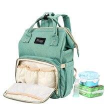 c4d596429bf9 Детские сумки для подгузников путешествия для женщин нейлон Большой Мать  Организатор колёса рюкзаки холст сумочка многофункц