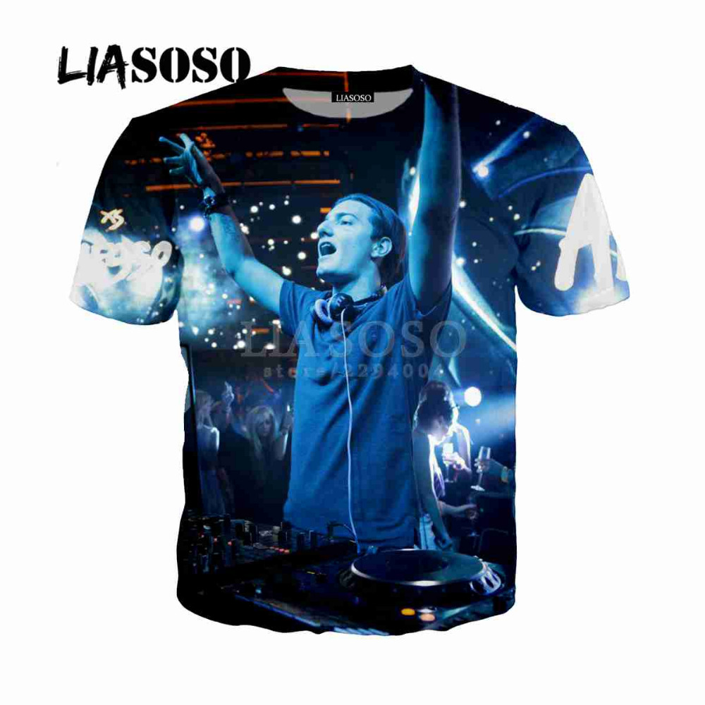 LIASOSO NEW Avicii Tim Bergling Waiting For Love Wake Me up RIP 3D Print T shirt/Hoodie/Sweatshirt Unisex Top 100 DJ Mag Y024