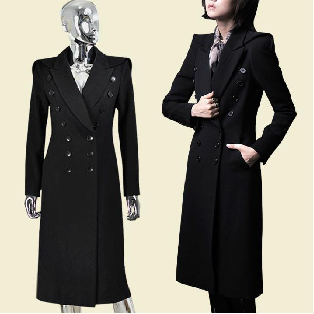 winter new military uniform double breasted maxi winter. Black Bedroom Furniture Sets. Home Design Ideas
