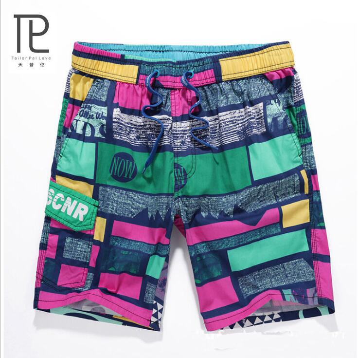 Board Shorts Learned New Brand Quick Dry Men Shorts Casual Beach Short Homme Bermuda Summer Loose Mens Board Shorts Camouflage Mens Thick Short #b5 Low Price