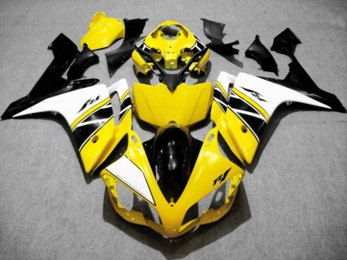 Front Nose Cowl Upper Fairing For Yamaha YZF R1 2007-2008 YZFR1 07-08 White