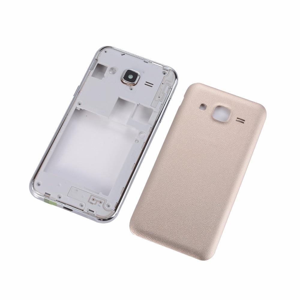 Original Battery Back Door Cover For Samsung Galaxy J2 J200 J200F J200Y Housing Middle Frame +Battery Cover