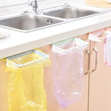 Kitchen Rubbish Bag Storage Holders Racks Cabinet Stand Garbage Bags Organizer Home Towel Hanging Container Products