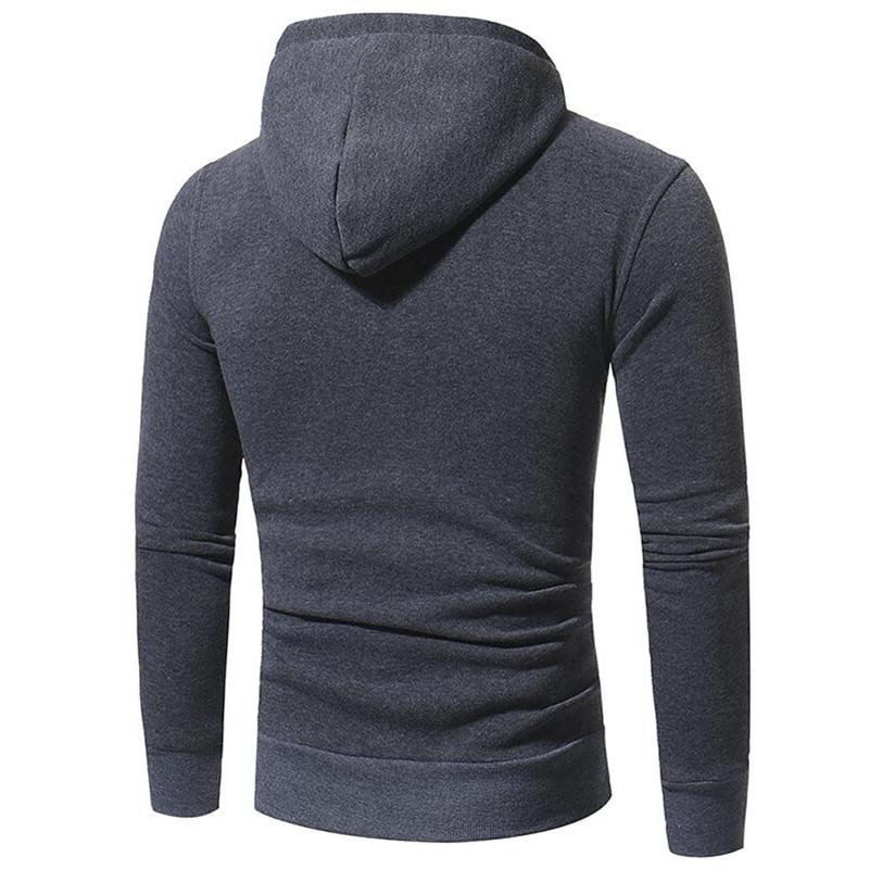 T-Bird Brand Pendant Decoration Men Sweatshirt Hoodeds Tops 2017 Autumn Winter Slim Hoody Pullover Mens Warm Hooded Jacket M-3XL