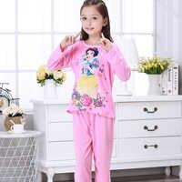 Neue 2018 Herbst Winter Baby Schlafanzug Anzug Schöne Gilr Pyjamas Kinder Pyjamas Mädchen Cartoon Pijamas Kinder Kleidung Set