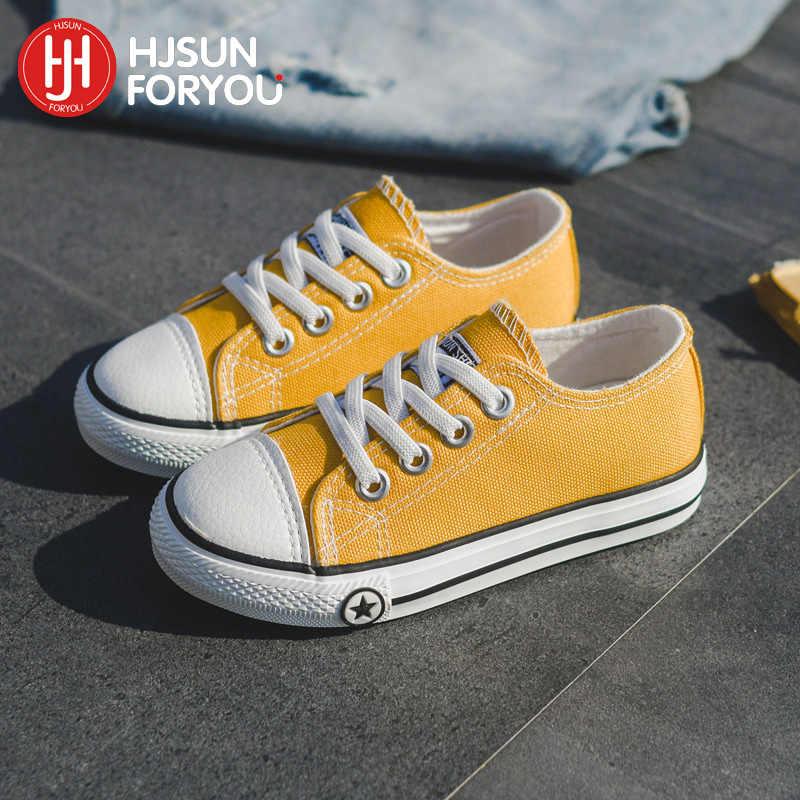 ขายร้อนฤดูใบไม้ผลิรองเท้าผ้าใบเด็กรองเท้าแฟชั่นรองเท้าผ้าใบและรองเท้าเด็กหญิงขนาด 24-37 สบายๆรองเท้าเด็ก