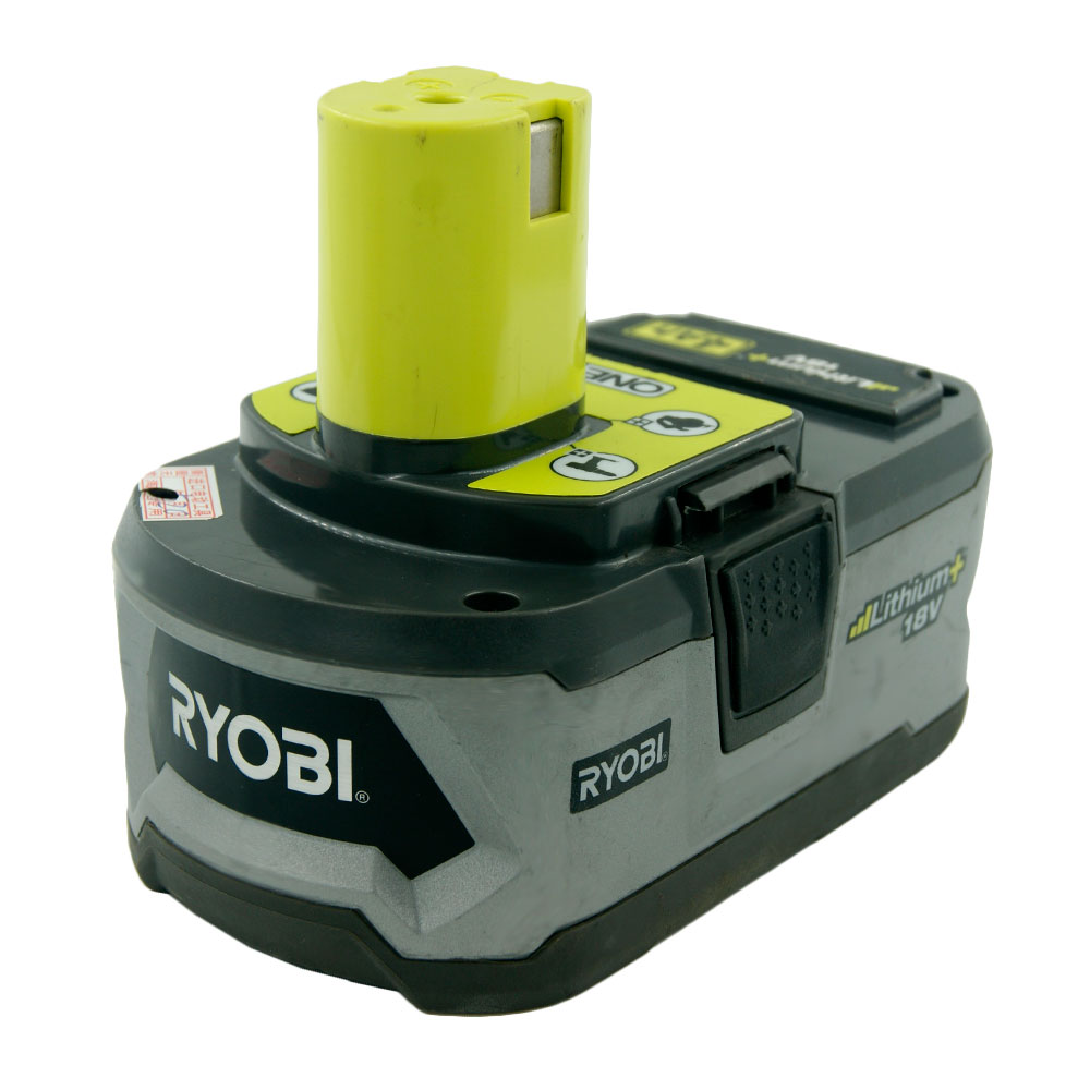 Original USED Ryobi P108 18volt 4 0ah Cordless Drill Tools Lithium ion Rechargeable Battery 4000mAH 18V