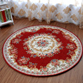 Lanskaya Round Carpet Bedroom Computer Chair Mat Room Fashion Area Rug Fabric Machine Washable Rugs