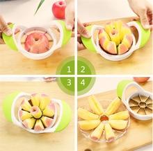 Apple Slicers Corers Tool Cut fruit Multi function Stainless Steel Fruit Vegetable Salad Kitchen Gadgets Tools