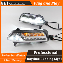 A T car styling For VW POLO LED DRL For POLO led fog lamps daytime running