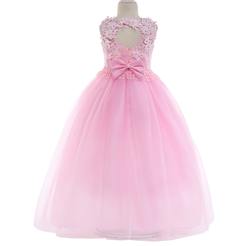 First Communion Dresses For Girls Pageant  Ball Gown  Dresses For Girls Children's Party Dress Little Ladies Elegant Dress