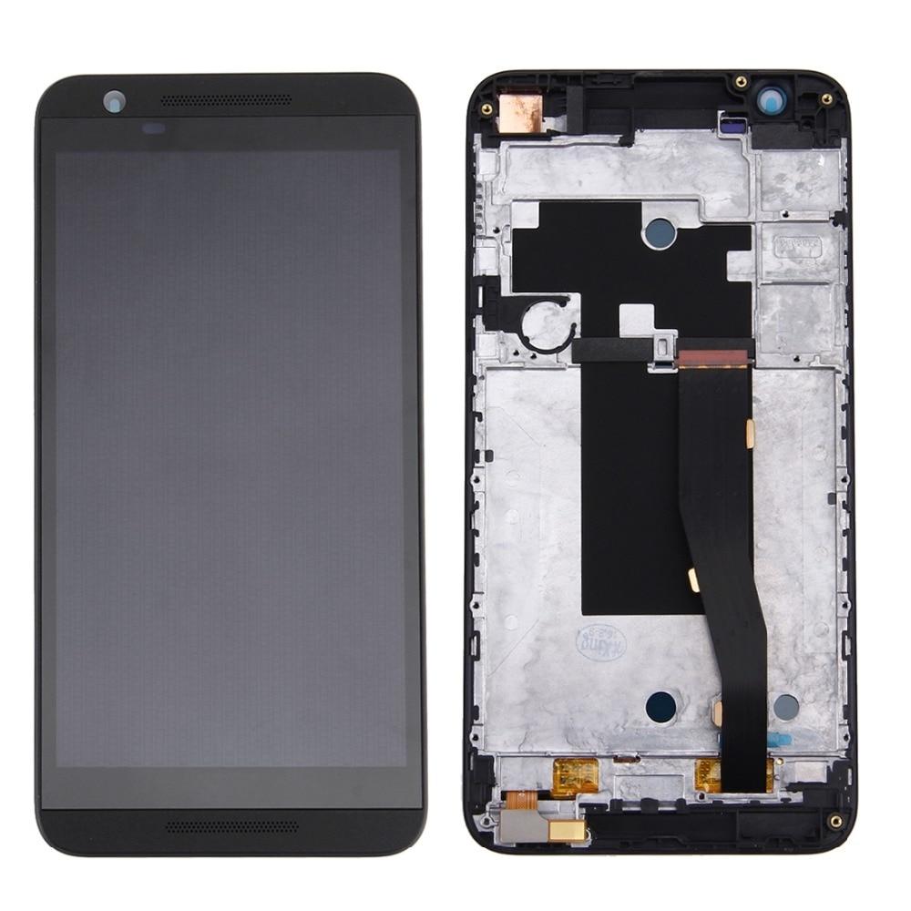 IPartsBuy Schermo LCD Originale e Digitizer Assemblea Completa con Telaio per HTC Un E9s