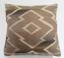 Import and export of KILIM cushion jilimu pure wool hand-woven national air cushion pillow 60x60cm(China)