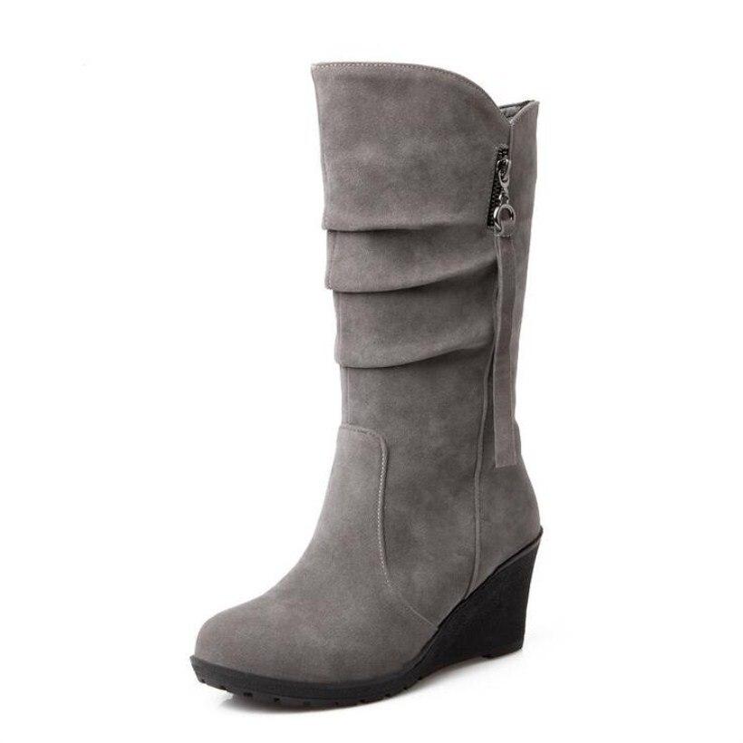 mid-calf Fashion discount Autumn