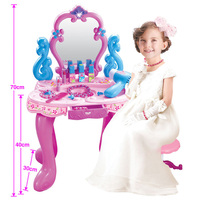 Simulation Dressing Table makeup toys pretend play children's little princess educational toys girls dresser set gift toys