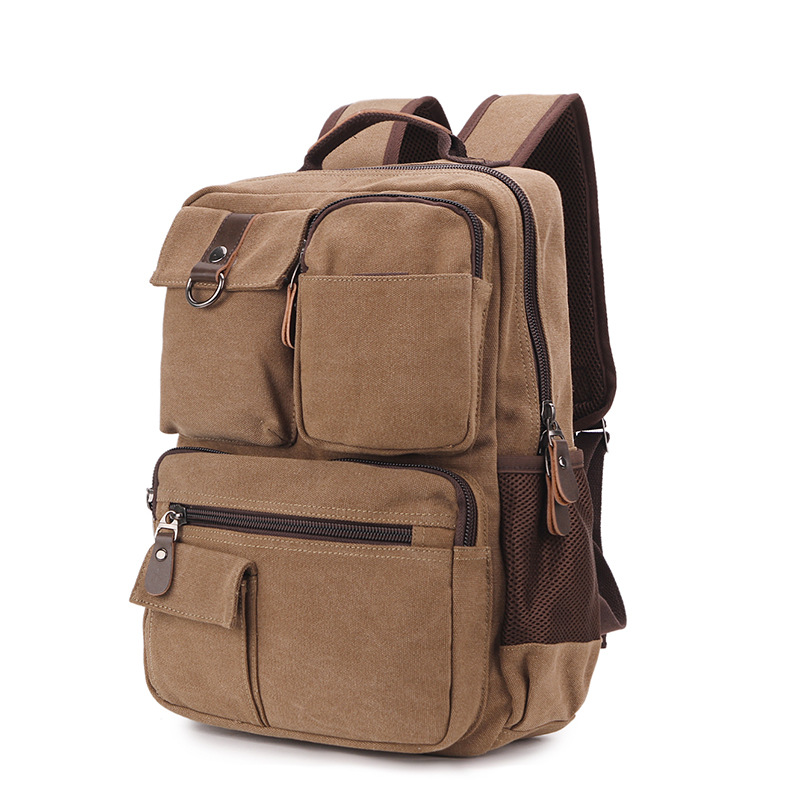 Large Capacity Backpack Laptop Luggage Travel School Bags Unisex Men Women Canvas Backpacks High Quality Casual Rucksack Purse 14 15 15 6 inch flax linen laptop notebook backpack bags case school backpack for travel shopping climbing men women