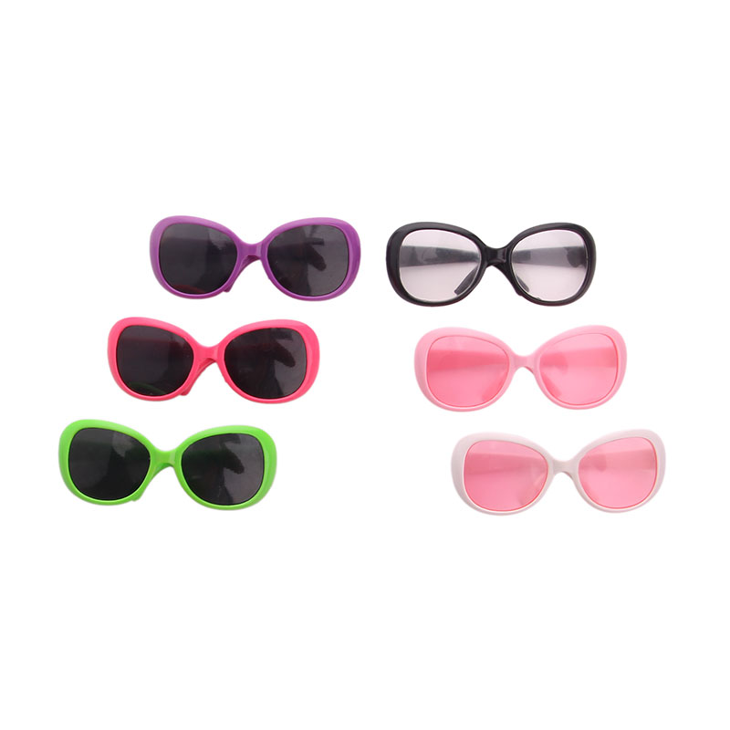 Sunglasses Various Styles Fit 18 Inch American 43cm Baby Doll Clothes Accessories,The Best Christmas Gift For Children image