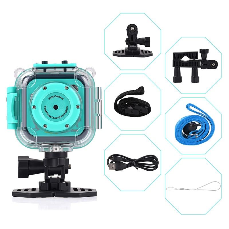 Enfants enfant caméra vidéo numérique jouet juguete 20 M étanche sport action caméra plusieurs langues précieux cadeau de noël P20 - 3