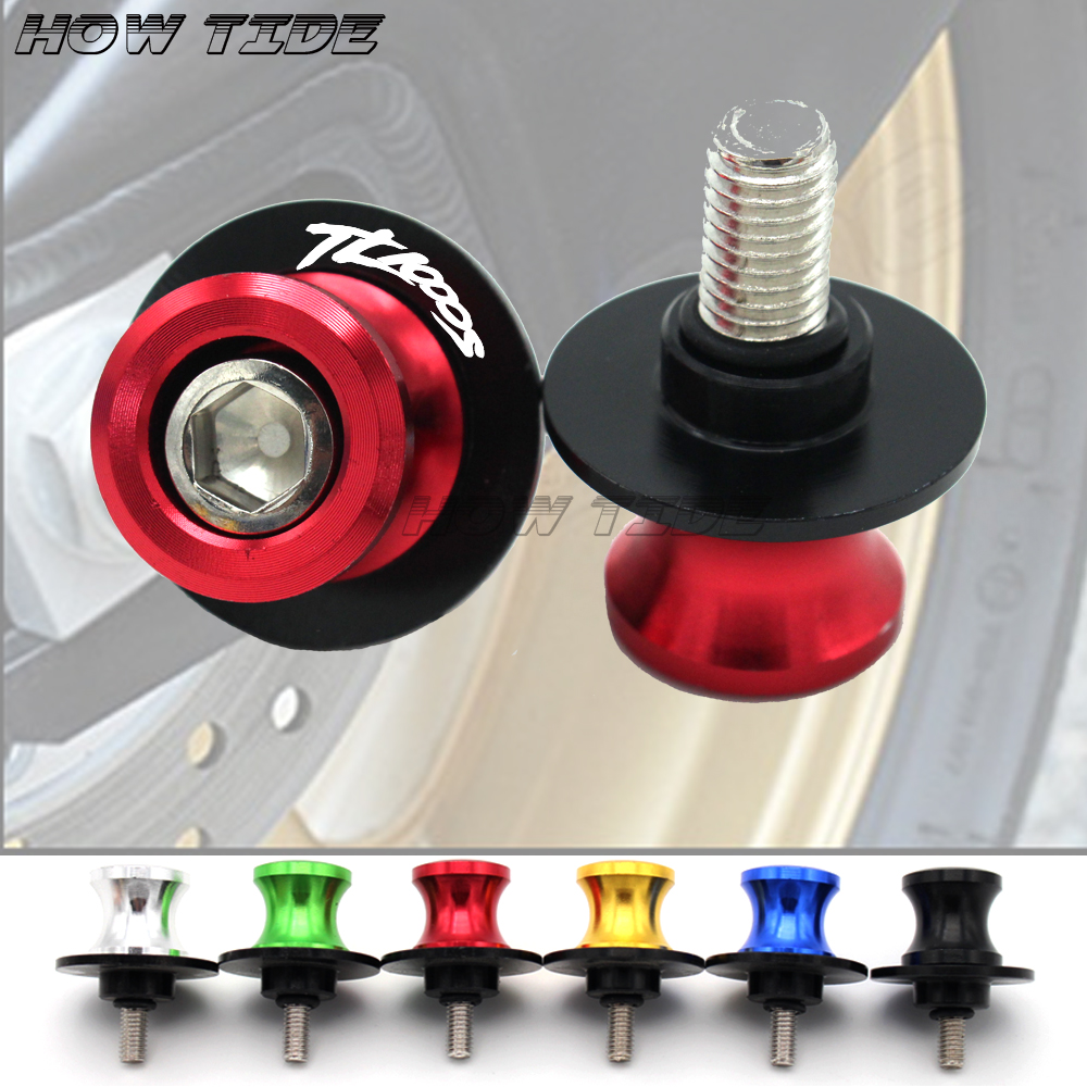 For <font><b>Suzuki</b></font> TL1000S <font><b>TL</b></font> <font><b>1000S</b></font> 1997-2003 Motorcycle High Quality Accessories CNC Aluminum M8 Swingarm Spools Slider Stand Screw image
