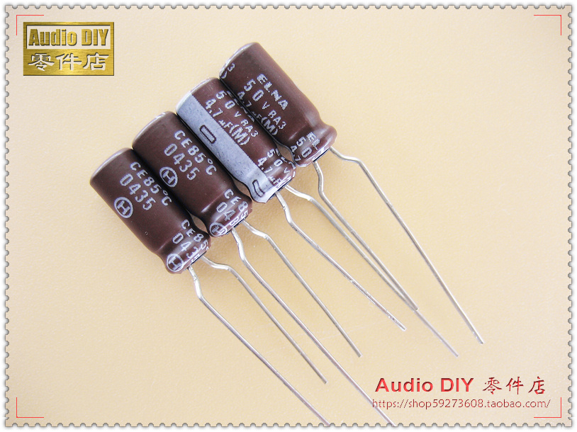 2018 Hot Sale 30PCS/50PCS ELNA RA3 Series Electrolytic Capacitors For 4.7uF/50V Audio Free Shipping