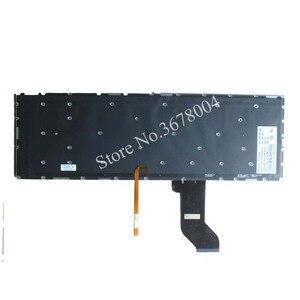 Image 2 - NEW for Lenovo ideapad Y700 Y700 15ISK Y700 17ISK Backlit laptop Keyboard UK Without frame